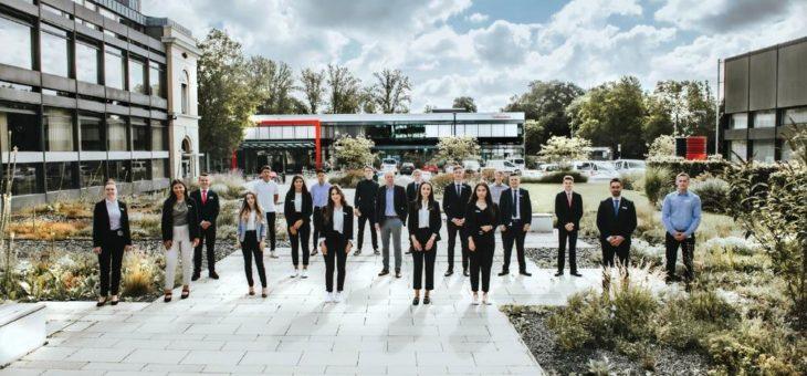 BLSK begrüßt 18 neue Auszubildende