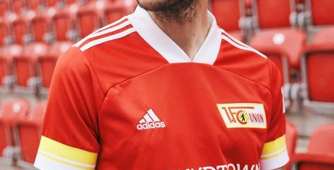 An der alten Försterei trägt man rot:  adidas und Union Berlin stellen Heimtrikot 2020/21 vor
