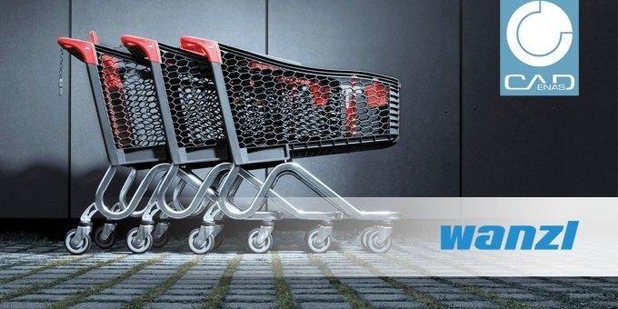 Wanzl verkürzt mit PARTsolutions Recherche- und Konstruktionszeiten bei der Entwicklung eines neuen Einkaufswagens um mehr als 2 Stunden