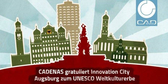 Innovation Company gratuliert Innovation City Augsburg zum UNESCO Weltkulturerbe