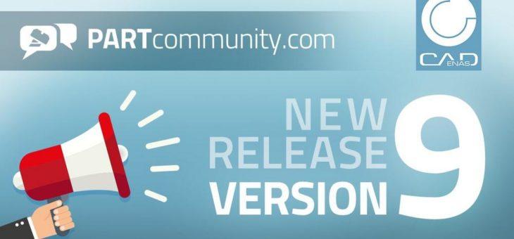 Neue PARTcommunity Version 9 besticht durch optimierten 3D CAD Download & eindrucksvolle Marketingfeatures