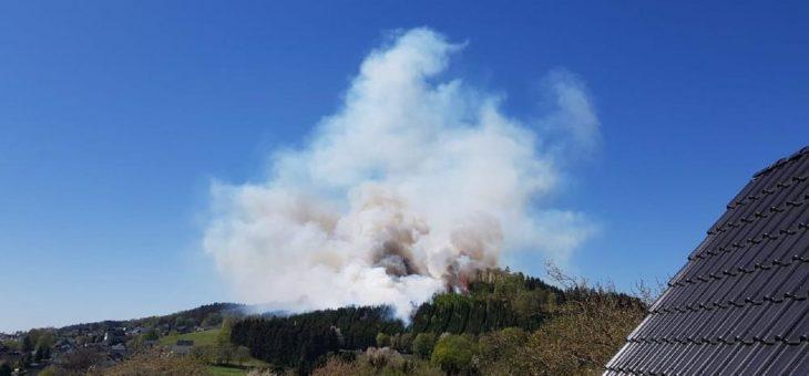 Waldeigentümer warnen vor Waldbrandgefahr