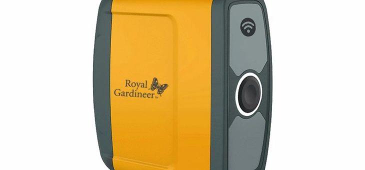 Royal Gardineer WLAN-Bewässerungscomputer BWC-500, Bewässerungsventil, 2-Wege-Verteiler, App