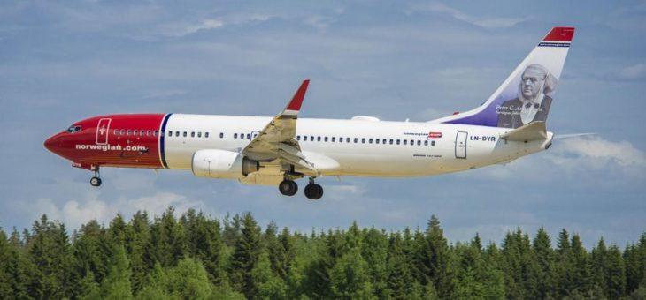 Norwegian verlängert Kooperation mit Lufthansa Technik