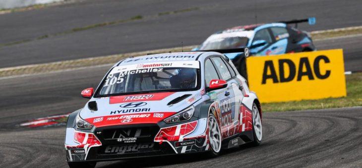 Hyundai Team Engstler siegt mit Norbert Michelisz in der ADAC TCR Germany