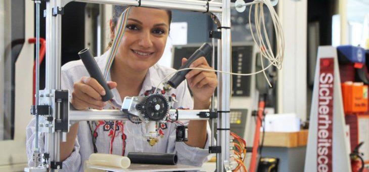 Prof. Dr. Miranda Fateri entwickelt neues Transportsystem für die Industrie