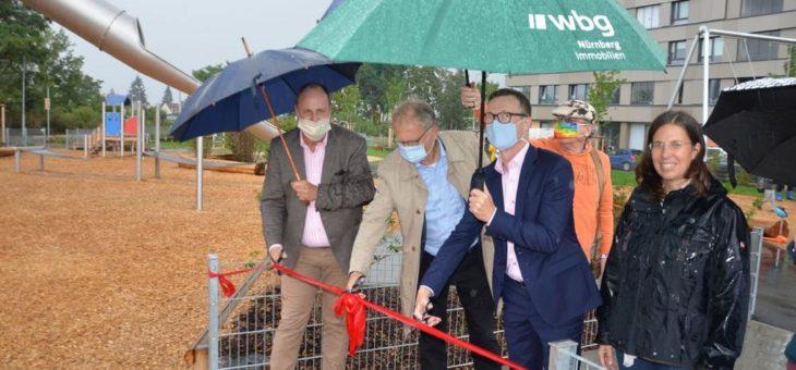 Neuer Spielplatz am Nordostbahnhof eingeweiht