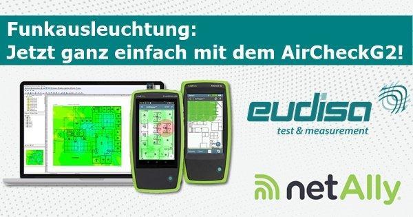 AirCheckTM G2: Einfachste WLAN-Funkausleuchtung mit nur einem Gerät