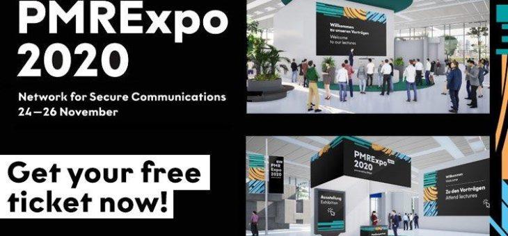"""Das Netzwerk wird digital! """"digitalPMRExpo 2020 – Network for Secure Communications"""" vom 24. bis 26. November als virtuelle Messe"""