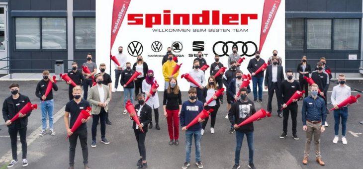 Erfolgreicher Start mit Abstand: 27 junge Nachwuchstalente geben Vollgas bei Spindler