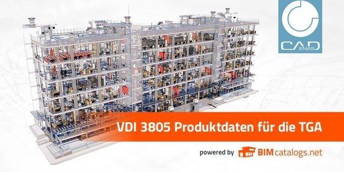 Jetzt mit CADENAS VDI 3805 / ISO 16757 Produktdaten TGA konform bereitstellen