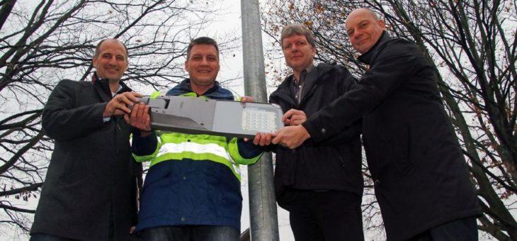 Kieler Straßenbeleuchtung jetzt ohne Freileitungen