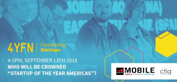 """Open as App ist Finalist des """"Startup of the Year Americas 2018"""""""