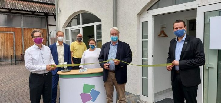 Einweihung des neuen OPTANIUM-Büros in Karben durch den Vizepräsidenten des Hessischen Landtags Dr. h.c. Hahn