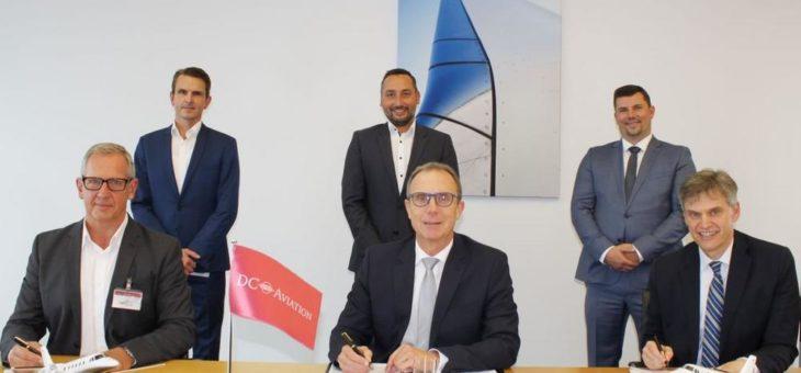 AeroVisto Group unterzeichnet Rahmenvertrag mit DC Aviation