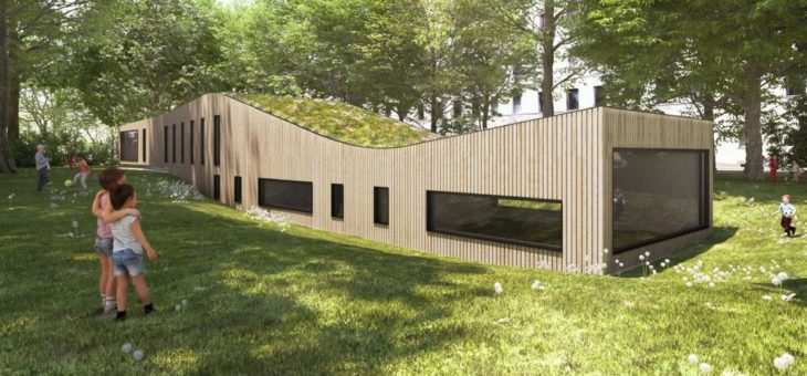 Baubeginn für neuen Kindergarten Am Stadtpark