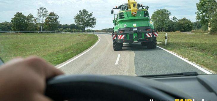 Verkehrssicherheitskampagne #agrarFAIRkehr