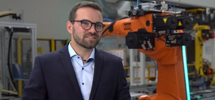 Hochschulabsolvent Max Leimkühler mit Wissenschaftspreis für die beste Masterarbeit ausgezeichnet
