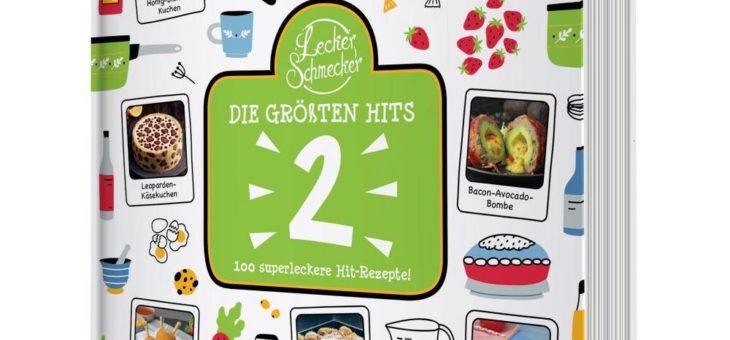 "FUNKE-Foodportal leckerschmecker.me bringt zweites Best-of-Kochbuch ""Die größten Hits"" heraus"