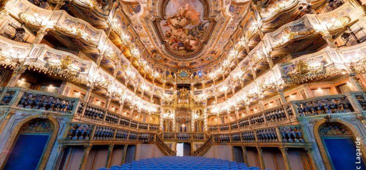 Markgräfliches Opernhaus zählt zu den TOP 100 Sehenswürdigkeiten in Deutschland