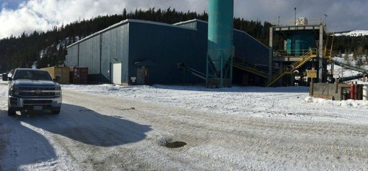 Nicola Mining strebt mit Bonanza-Gehalten zur schnellen Goldproduktion