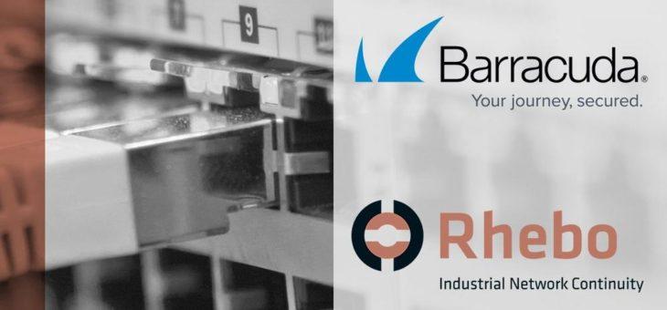 Rhebo und Barracuda machen OT-Sicherheit zur gemeinsamen Sache