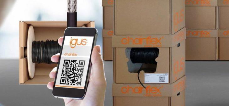 Einfach von der Rolle: Neue chainflex Leitungsbox spart 84 Prozent Versandkosten
