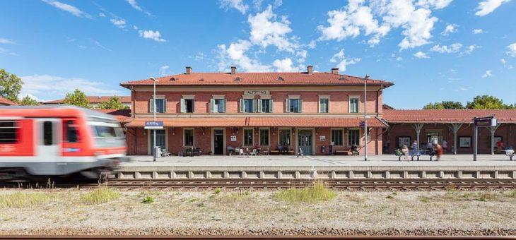 Altötting ist Bahnhof des Jahres 2020