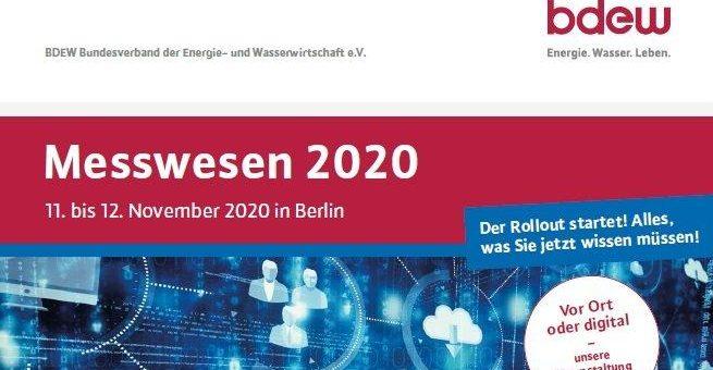 Messwesen 2020, 11.-12. November 2020 in Berlin