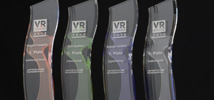 VerkehrsRundschau-Awards 2020 – Bewerbungsfrist läuft