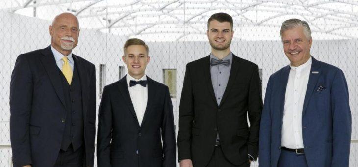 Studenten aus Mannheim und Darmstadt gewinnen bei Logistik Masters 2019