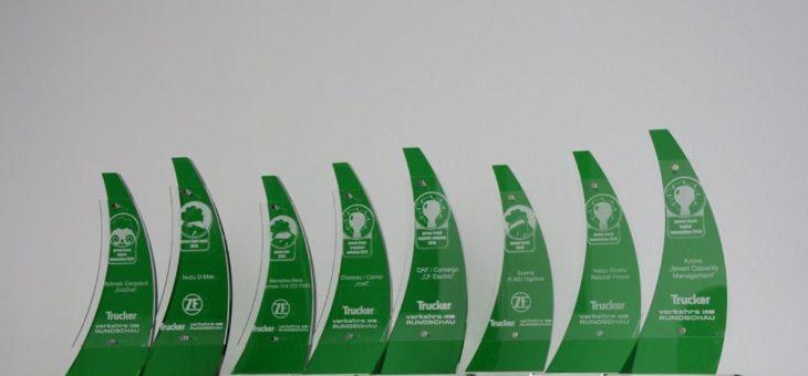 Umweltranking: Scania, Mercedes-Benz und Isuzu auf Platz 1