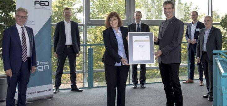 FED zeichnet Leiterplatten-Designer mit dem PCB Design Award aus