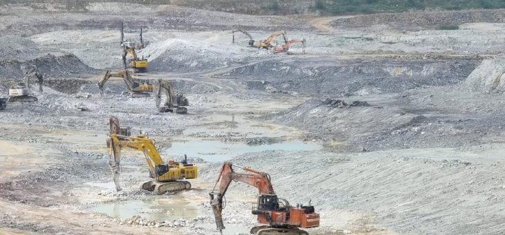 Größte Flotte von Epiroc HB 10000 Hydraulikhämmern in indischem Kalksteinbruch
