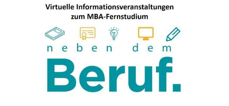 Virtuelle Informationsveranstaltung zum MBA-Fernstudium
