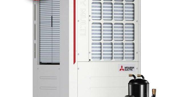 Mitsubishi Electric bietet seine City Multi VRF-Systeme auch mit R32 an