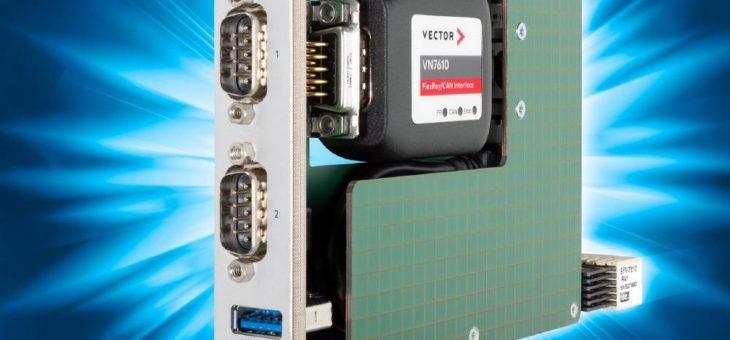 Produkt SFV-RAY – Träger für FlexRay & CAN-FD Adapter