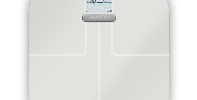 Gesundheit und Fitness im Blick mit der Index S2 Smart-Waage von Garmin