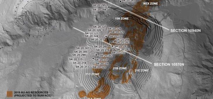Skeena durchschneidet 7,01 g/t AuEq über 20 Meter  in der Zone 21C Infill-Bohrungen am Eskay Creek