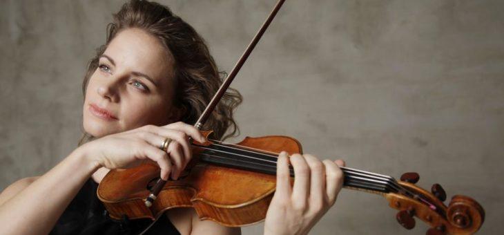 Geigenstar Julia Fischer spielt Mozart mit römischem Orchester
