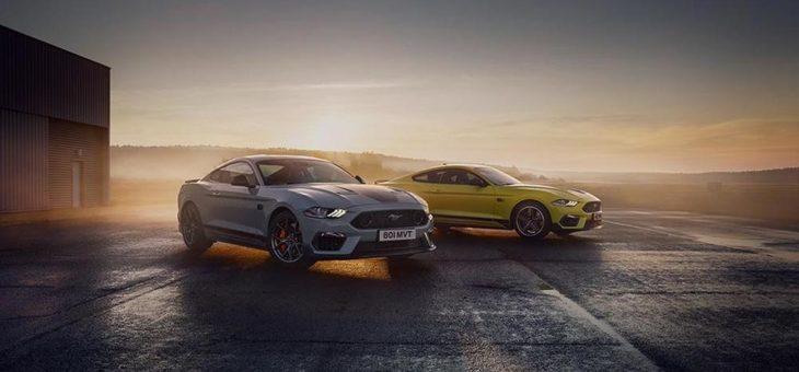 Erstmals auf dem Sprung nach Europa: Ford präsentiert in Goodwood den neuen Mustang Mach 1