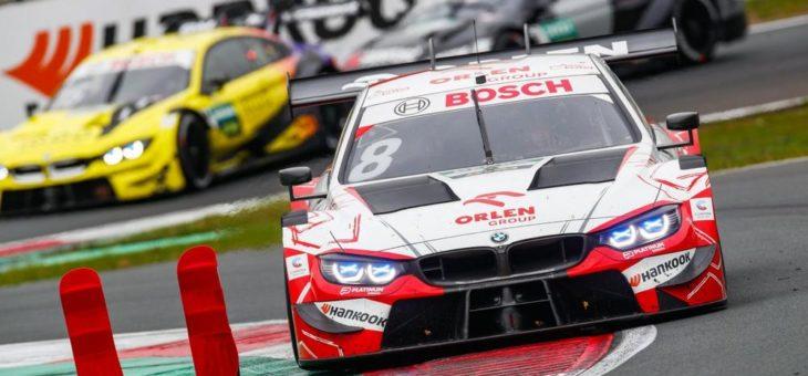Robert Kubica fährt im BMW M4 DTM erstmals aufs Podium – Timo Glock wird Vierter
