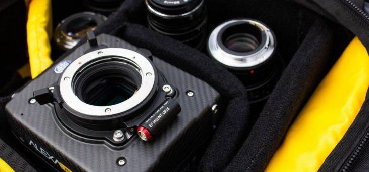 ARRI stellt neuen EF-Mount (LBUS) für Large-Format-und Super-35-Kameras vor