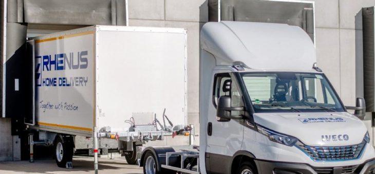Rhenus Home Delivery setzt auf Dock'n'Deliver – 1.500 Kilogramm mit BE-Führerschein