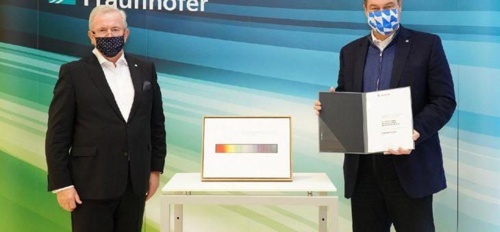 Der Bayerische Ministerpräsident Dr. Markus Söder ist Ehrenmitglied der Fraunhofer-Gesellschaft