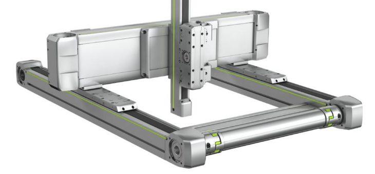 Flexibles Dreiachs-System HS3 von HIWIN – Standardisiert und doch individuell