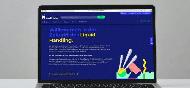 Mehr Farbe im Labor: Hamburger Life-Science-Unternehmen Starlab launcht neuen Markenauftritt