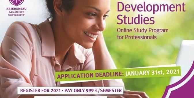Neuer Online-Studiengang an der Hochschule: M.A. Development Studies