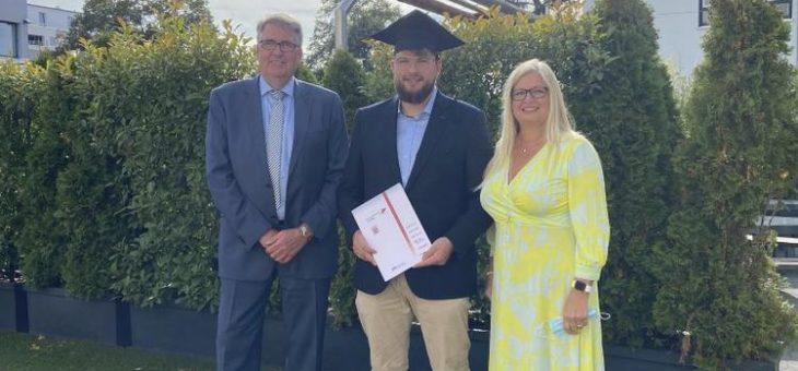 Übergabe der Wäscherei Diener an die 3. Generation: Nicolai Diener übernimmt Standortleitung in Pfaffenheck