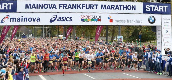 Mainova bleibt Titelsponsor des Frankfurt Marathon